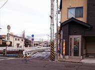4.床屋前の交差点